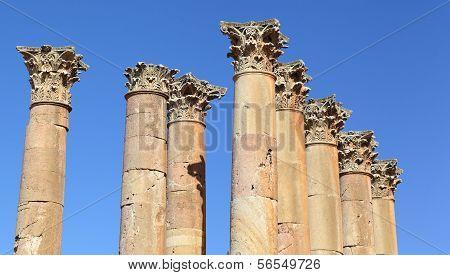 Corinthian Columns, Jerash