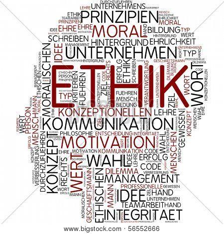 Info-text graphic - ethics