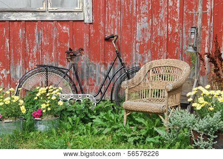 Bike And Chair