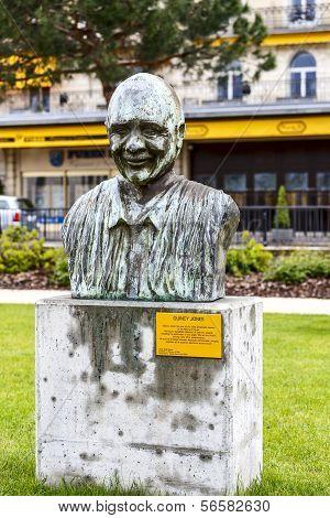 Statue To Quincy Jones, Montreux