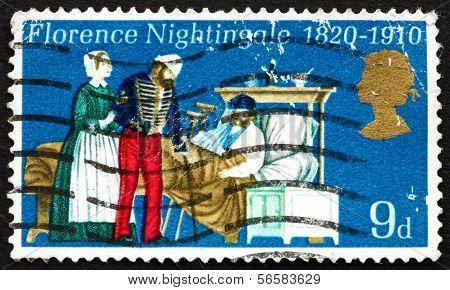 Postage Stamp Gb 1970 Florence Nightingale