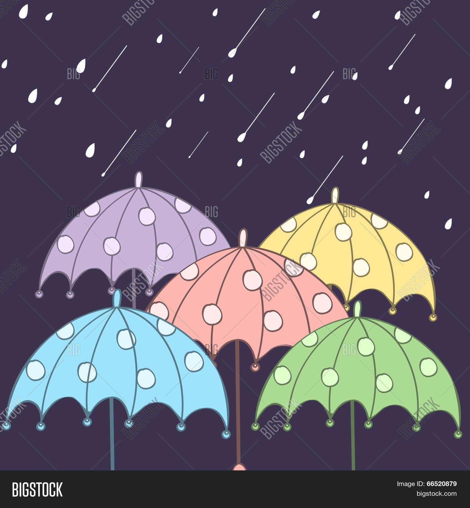 b6ecdd594c94 Colorful Umbrellas Vector & Photo (Free Trial)   Bigstock