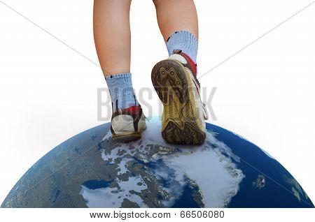Walking On The World