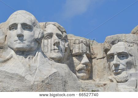 Mount Rushmore National Monument in South Dakota, United States