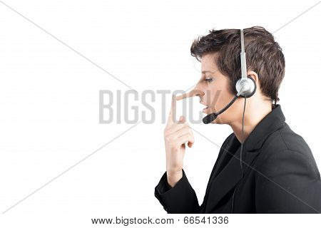 Customer Support Liar
