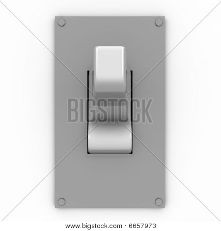 Light Switch Frontal View
