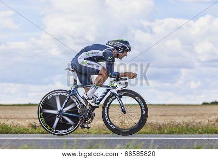 The Cyclist Juan Jose Cobo Acebo
