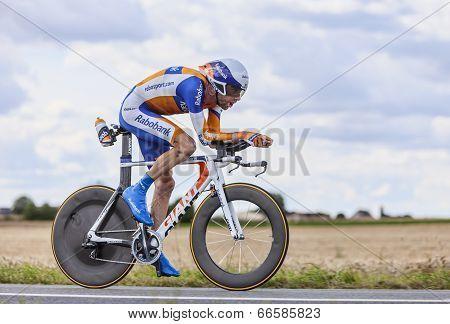 The Cyclist Laurens Ten Dam