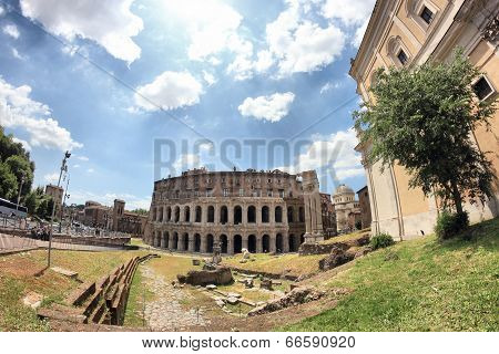 Theatre Marcellus, Rome, Italy