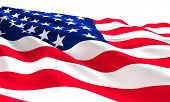 old glory flag american background poster