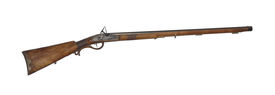 Middle-range Hunting Rifle Of 19Th Century Cutout