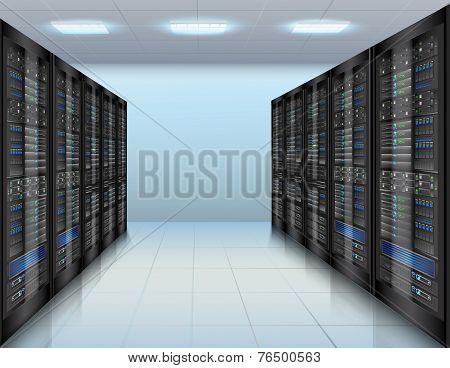 Data center background