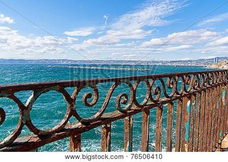 Rusty Guardrail