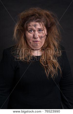 Grimy Woman