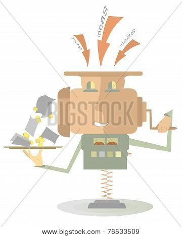 Moneymaker machine