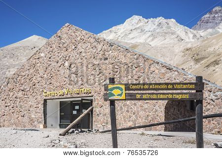 Aconcagua, In The Andes Mountains In Mendoza, Argentina.