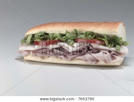 cold cut sandwich