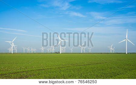 windmill power plant