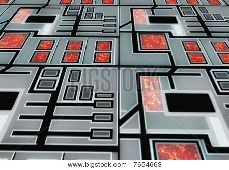 Background reactor