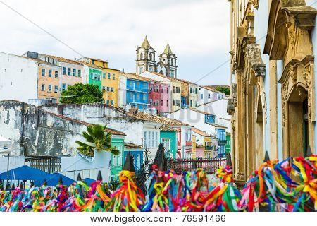 The historic centre of Salvador, Brazil