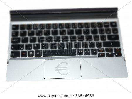 Tablet Keyboard Euro