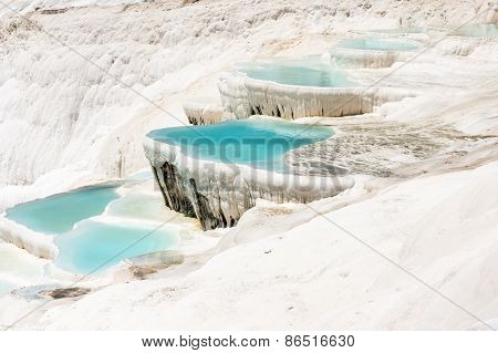 Mineral springs of Turkey, Pamukkale, National sightsign poster