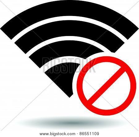 No Signal Or Bad Antenna Symbol