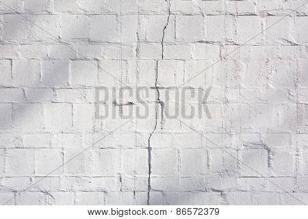 Pattern Of Modern White Wall Surface And Texture