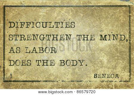 Mind Strength Seneca