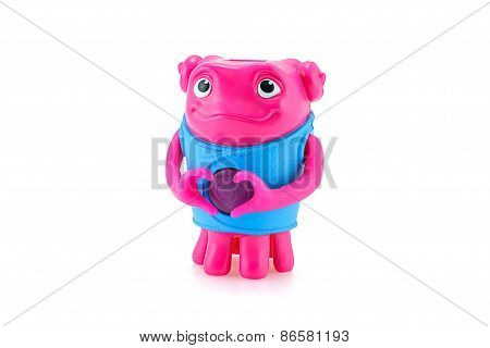 Heartfelt Oh Alien Toy Character From Dreamworks Home Animation Movie.