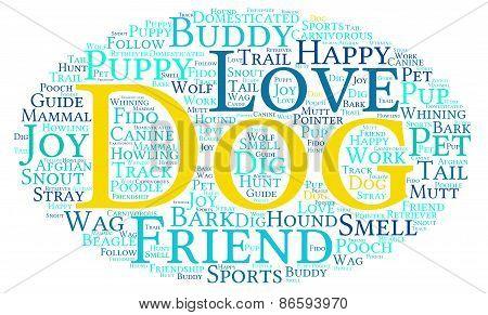 Dog Word Cloud