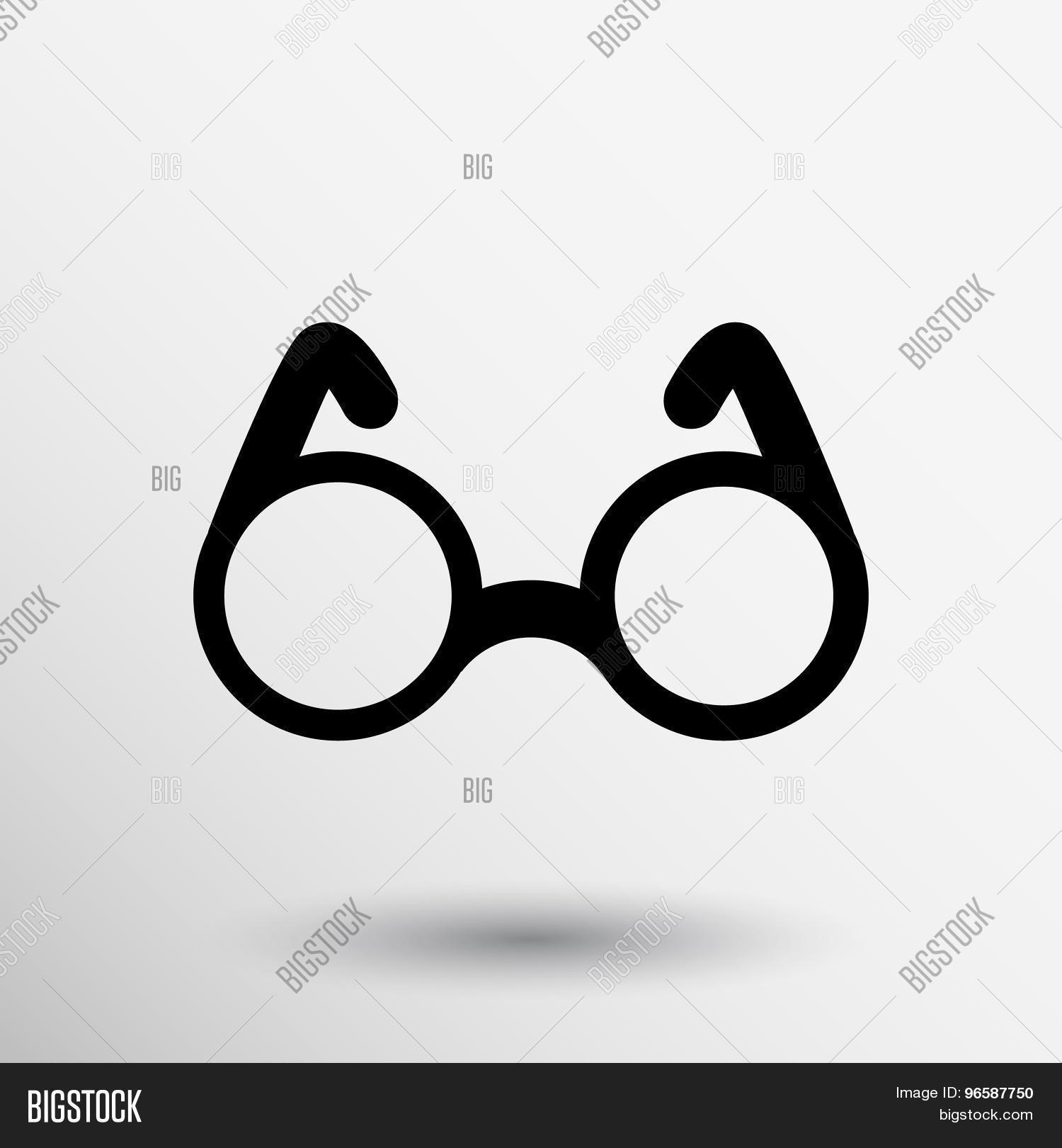 Vector Round Glasses Vector Photo Free Trial Bigstock