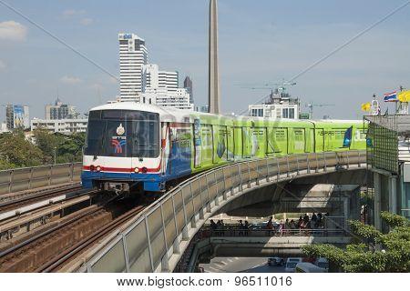 Train in Bangkok