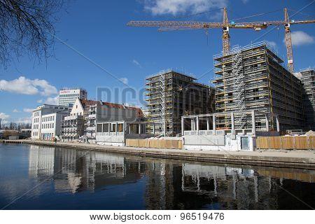 Potsdam Construction Site