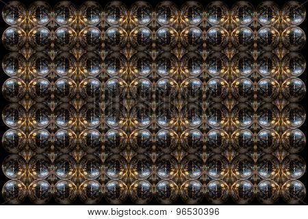 Mirrorball Pattern Design