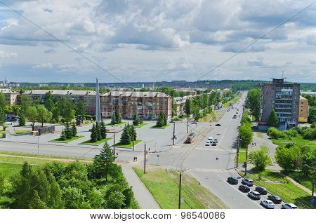. Crossroads City Nizhny Tagil