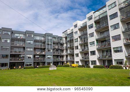 Housing complex in Reykjavik