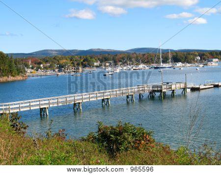 Coastal Maine Harbor