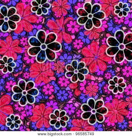 Wild Floral Pattern