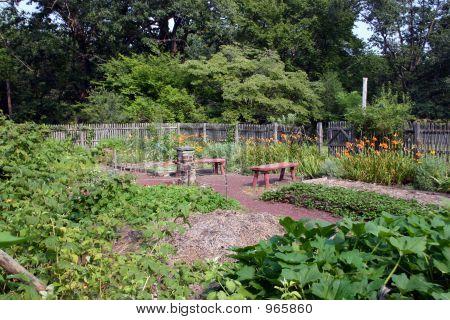 Colonial Vegetable Garden