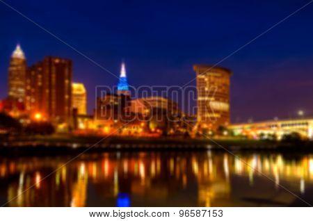 Cleveland Blue Hour
