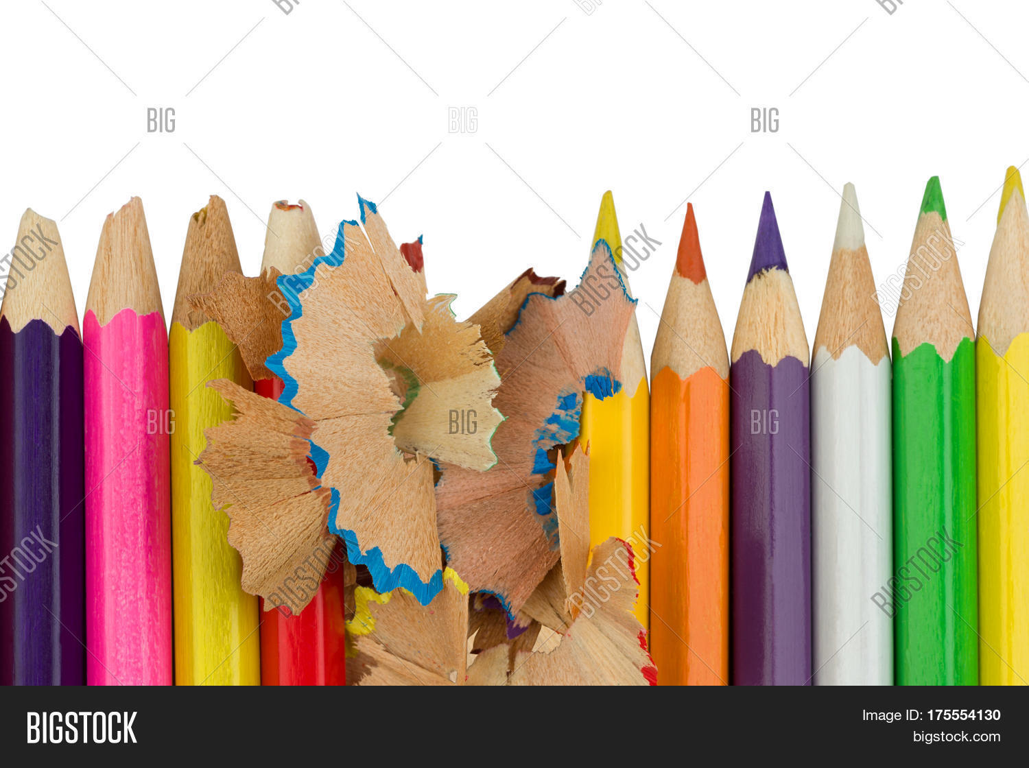 Blunt Sharp Colored Image & Photo (Free Trial) | Bigstock