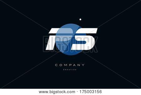 Ps P S  Blue White Circle Big Font Alphabet Company Letter Logo