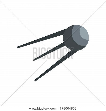 Satellite icon isolated on white background vector illustration