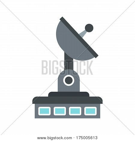 Observatory icon isolated on white background vector illustration