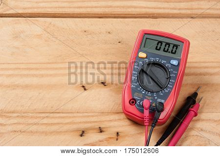 Test Leads Of Multimeter