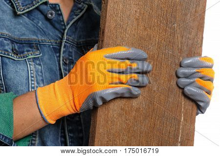 Non-slip Coated Gloves