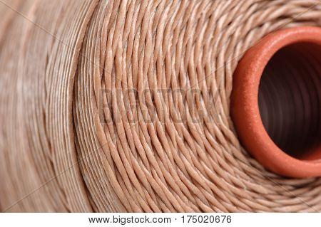 Brown Waxed Thread