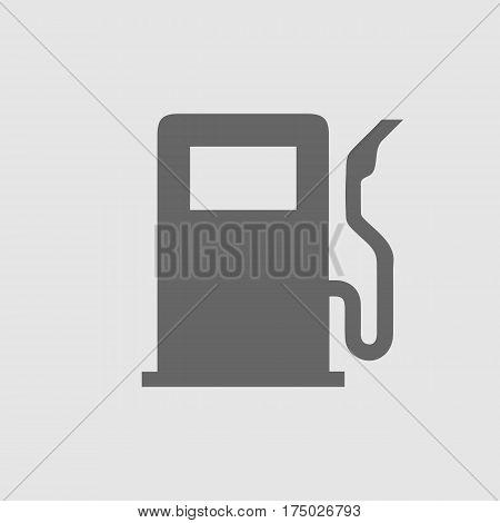 Gas pump vector icon eps 10. Gasoline station symbol.