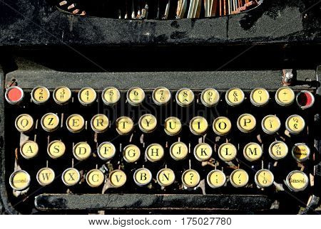 Antique Typewriter For Writers